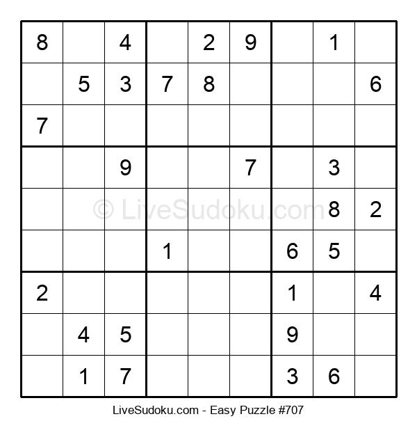Beginners Puzzle #707