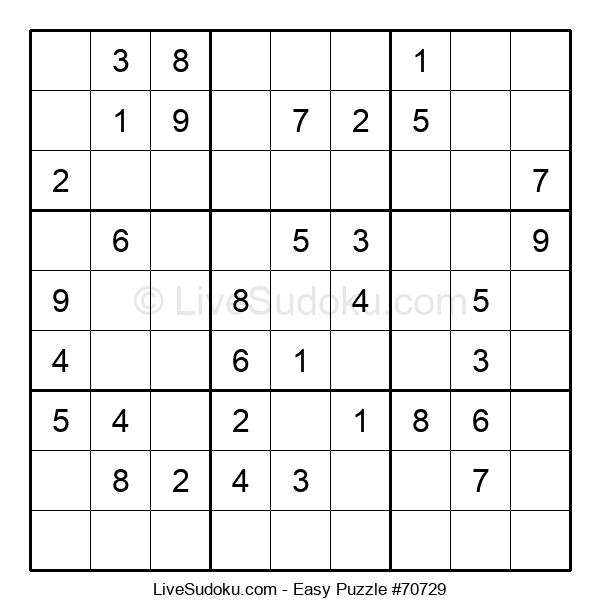 Beginners Puzzle #70729