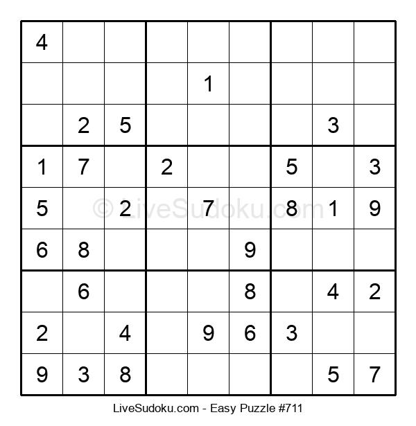 Beginners Puzzle #711