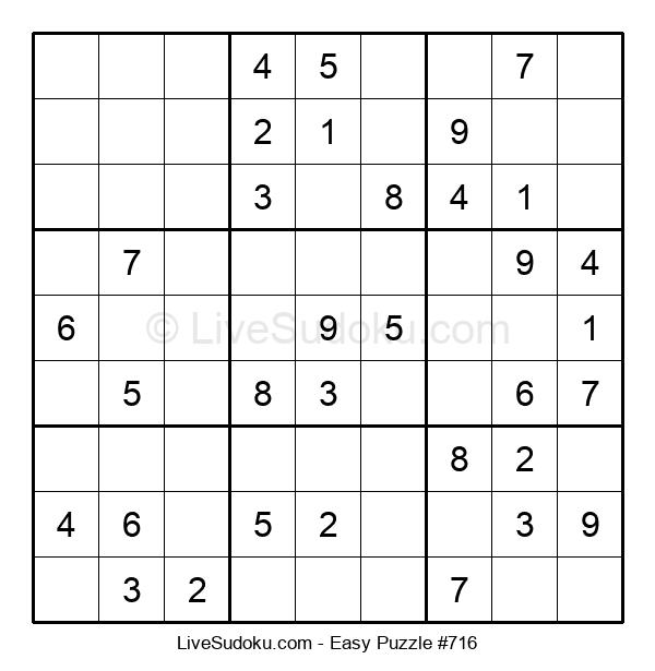 Beginners Puzzle #716