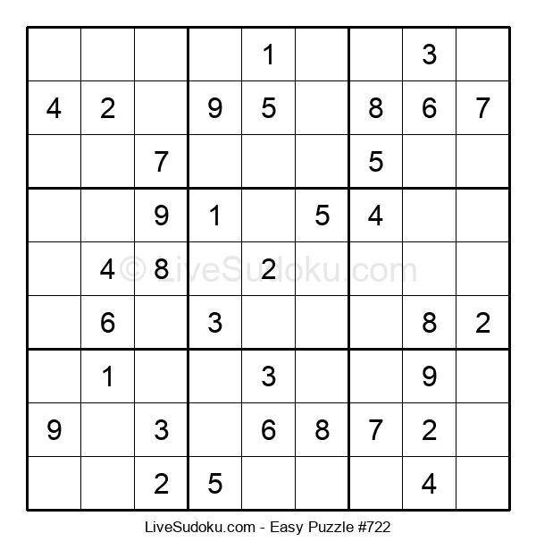 Beginners Puzzle #722
