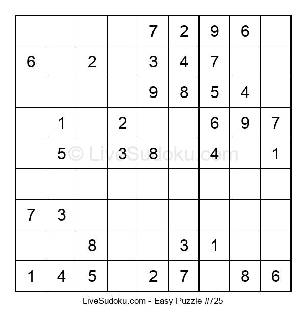 Beginners Puzzle #725