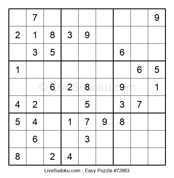 Beginners Puzzle #72883