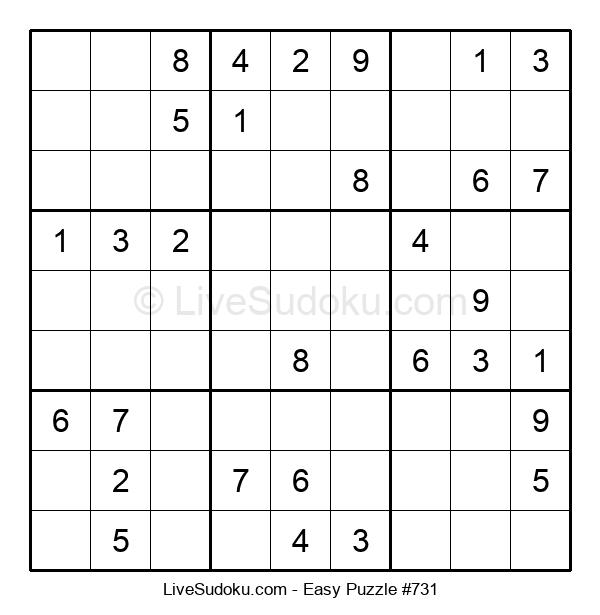Beginners Puzzle #731