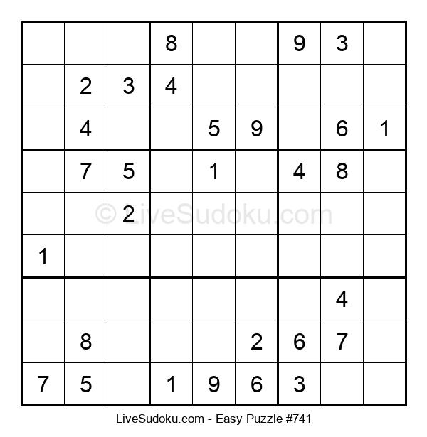 Beginners Puzzle #741