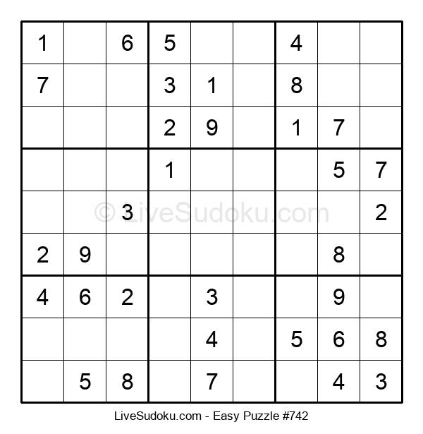 Beginners Puzzle #742