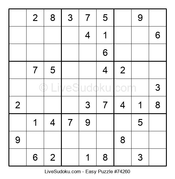 Beginners Puzzle #74260