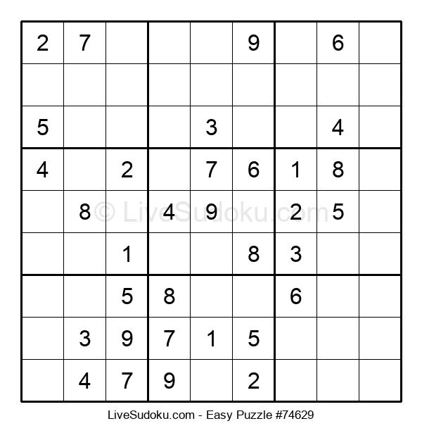 Beginners Puzzle #74629
