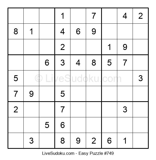 Beginners Puzzle #749
