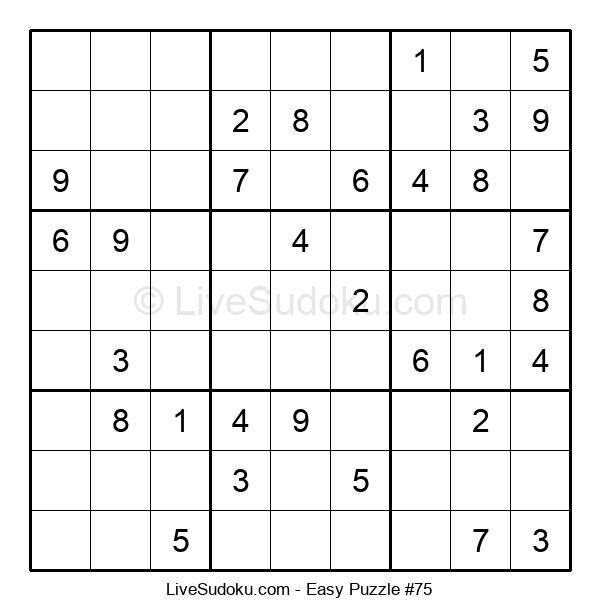 Beginners Puzzle #75