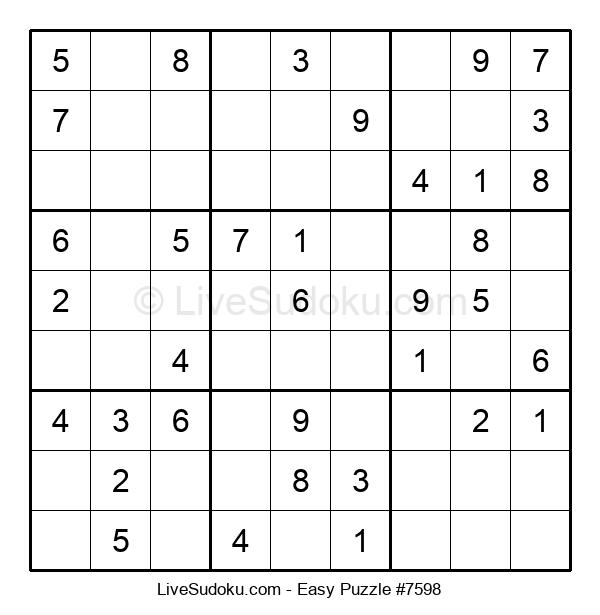Beginners Puzzle #7598