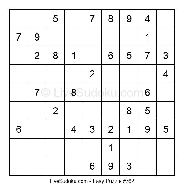 Beginners Puzzle #762