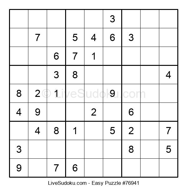 Beginners Puzzle #76941
