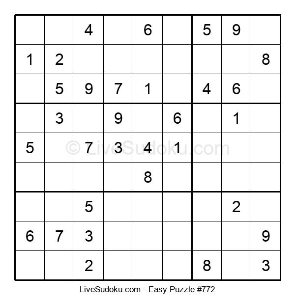 Beginners Puzzle #772