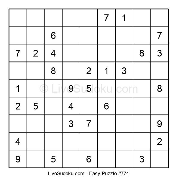 Beginners Puzzle #774