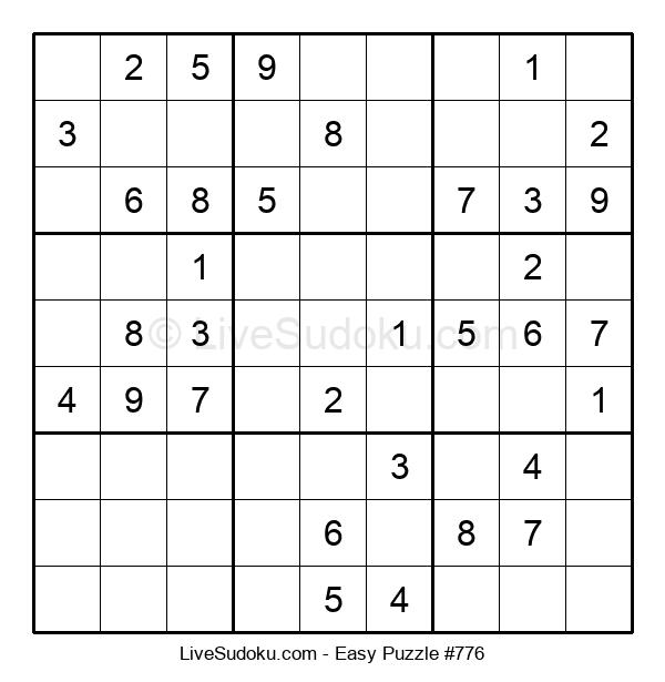 Beginners Puzzle #776