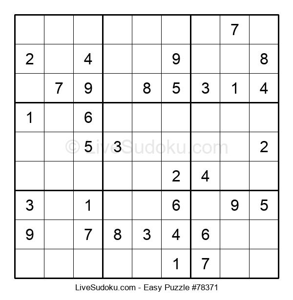Beginners Puzzle #78371