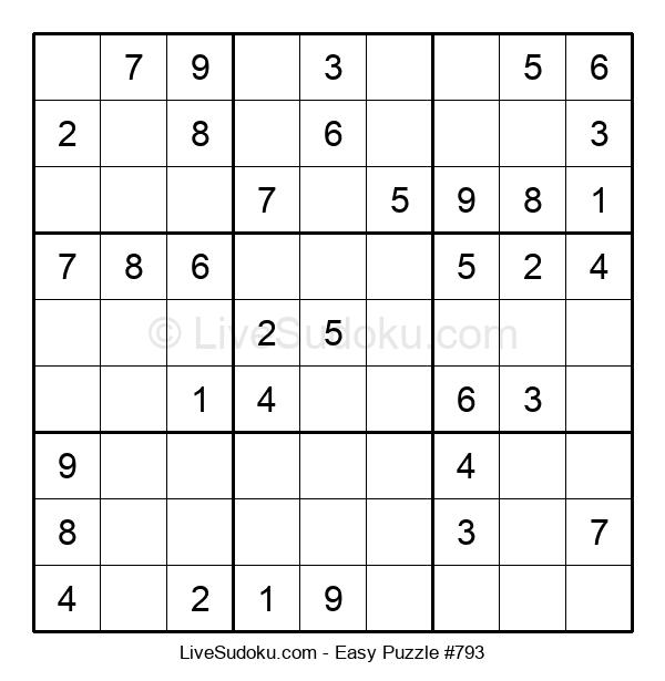 Beginners Puzzle #793