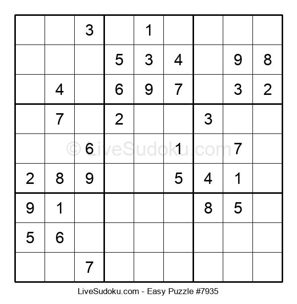 Beginners Puzzle #7935