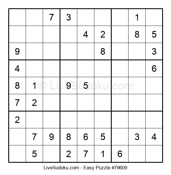 Beginners Puzzle #79609