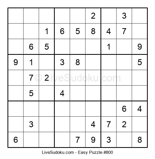 Beginners Puzzle #800