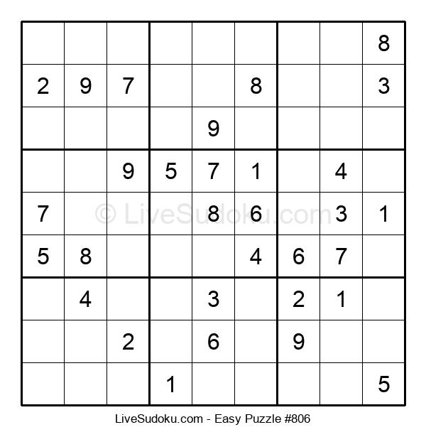 Beginners Puzzle #806