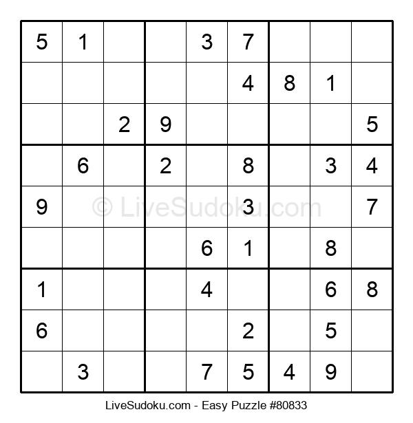Beginners Puzzle #80833
