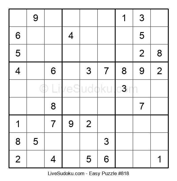 Beginners Puzzle #818