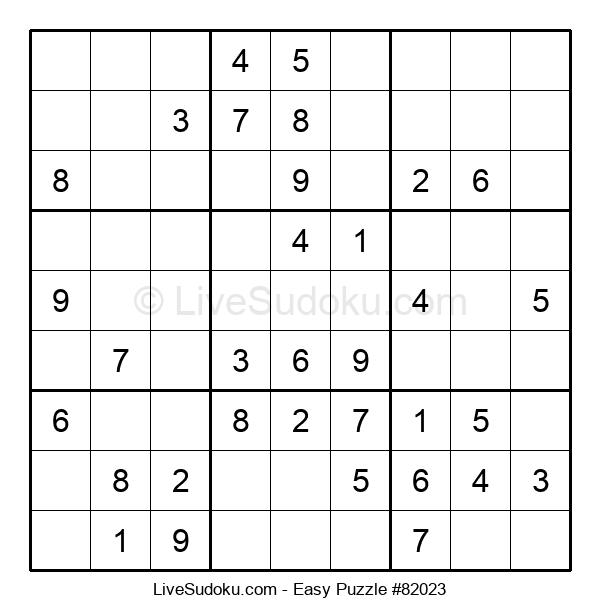 Beginners Puzzle #82023