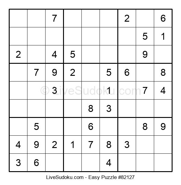 Beginners Puzzle #82127