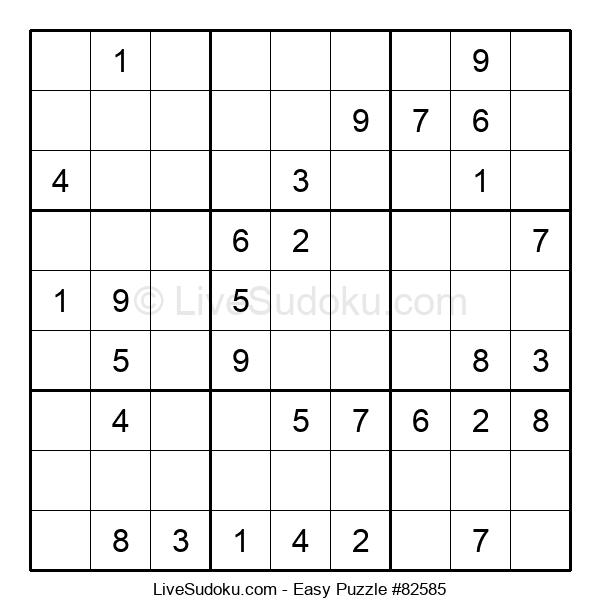 Beginners Puzzle #82585