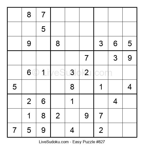 Beginners Puzzle #827