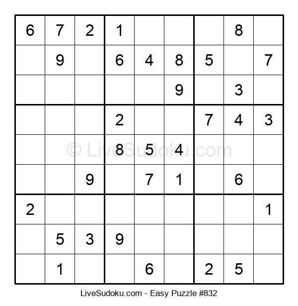 Beginners Puzzle #832