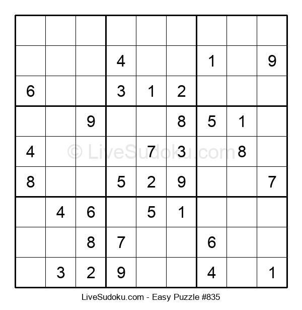 Beginners Puzzle #835