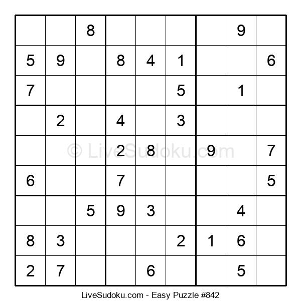 Beginners Puzzle #842