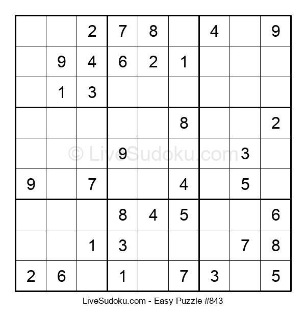 Beginners Puzzle #843