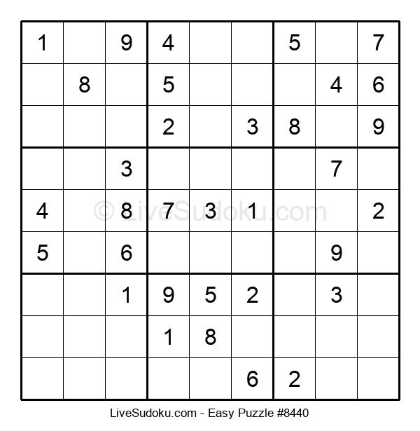 Beginners Puzzle #8440