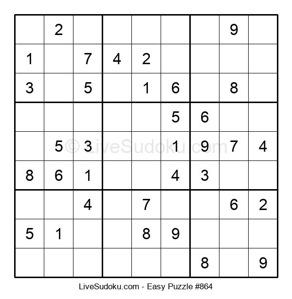 Beginners Puzzle #864