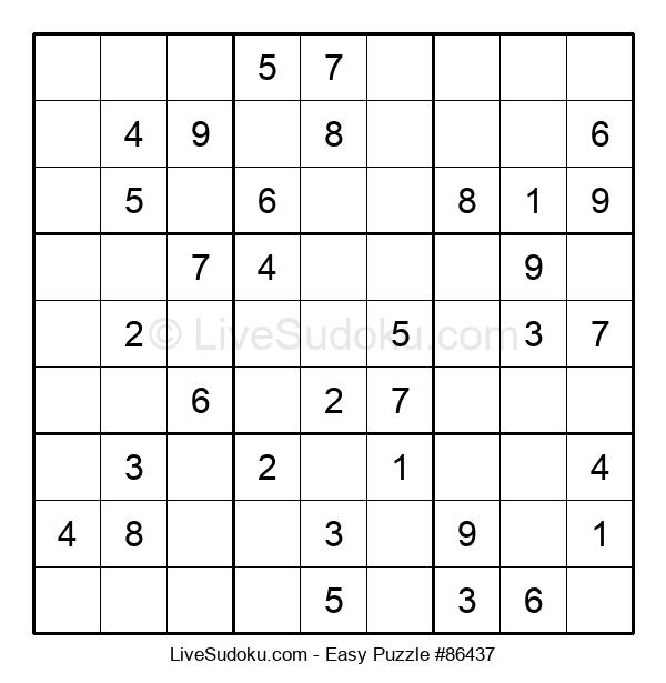 Beginners Puzzle #86437