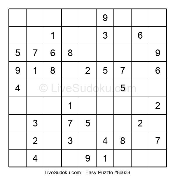 Beginners Puzzle #86639