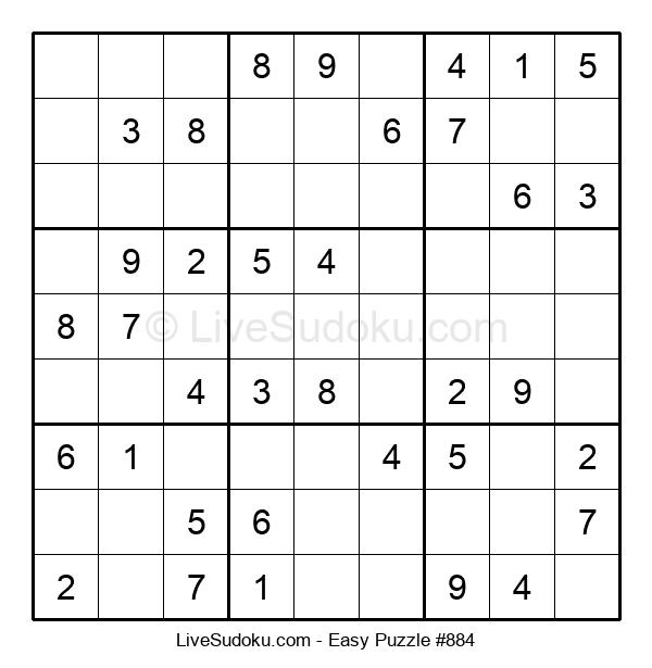 Beginners Puzzle #884