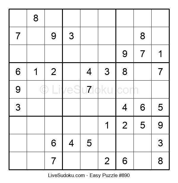 Beginners Puzzle #890