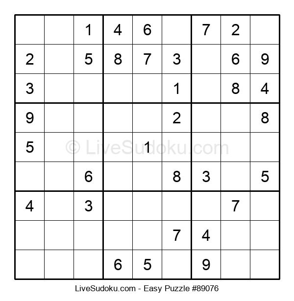 Beginners Puzzle #89076