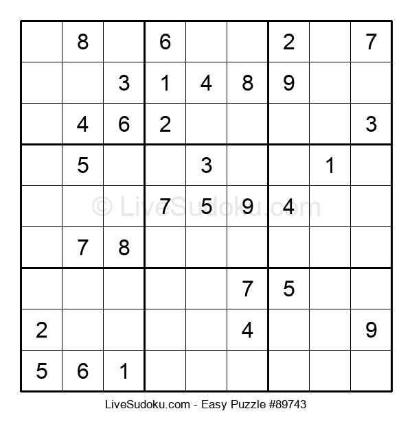 Beginners Puzzle #89743