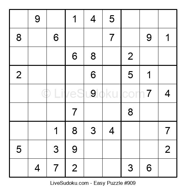 Beginners Puzzle #909