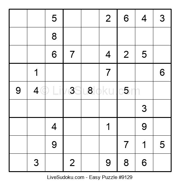 Beginners Puzzle #9129