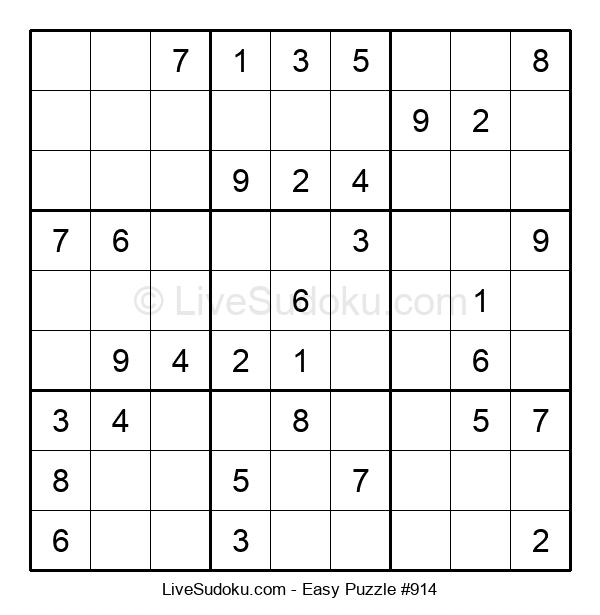 Beginners Puzzle #914