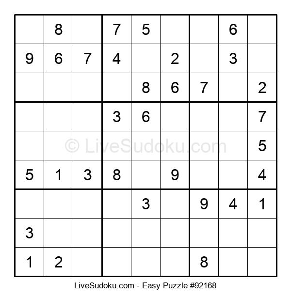 Beginners Puzzle #92168