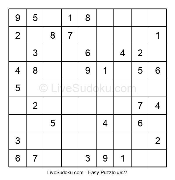 Beginners Puzzle #927