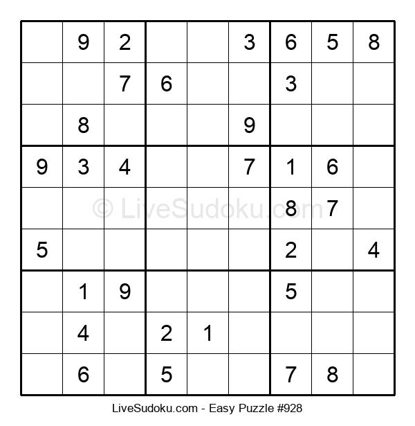 Beginners Puzzle #928